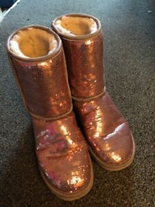 Uggs (Mauve Bling) Boots