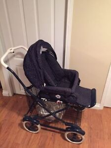 Peg Perego Classic Stroller (All Parts and Rain cover)