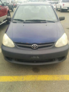 2005 Toyota Echo Sedan - drives, stops, inspected but parts car