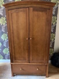 Wardrobe and matching chest of drawers (Mamas & Papas) best quality