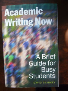 Academic Writing Now: A Brief Guide for Busy Students.