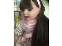 Reborn Baby girl doll 22inches BRAND NEW STILL BOXED