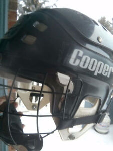 Black Child's Cooper Hockey Helmet - SK 600 - Mint Shape!!