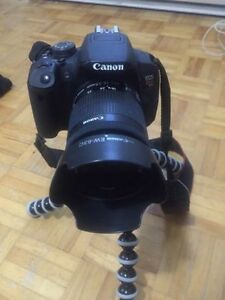 Canon rebel t5i (negotiable, reasonable price)