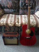 ELECTRIC ACOUSTIC AND AMP