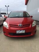2011 Toyota Corolla ZRE152R MY11 Ascent Wildfire 4 Speed Automatic Hatchback Mill Park Whittlesea Area Preview