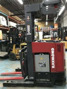 Chariot elevateur Raymond EASI-R30TT Forklift electric used