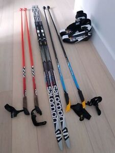 Salomon Skate Ski Gear