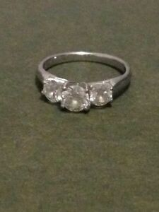 Last night Trinity Engagement Ring for Sale!!! 1 carat