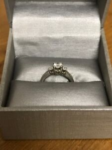 People's past present and future engagement ring