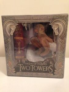 Lord of the Rings Two Towers Extended Unopened DVDS & Gollum $25