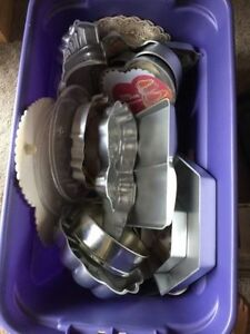 Baking Pans - Tier Cake Supplies - Wonderful Condition Regina Regina Area image 1