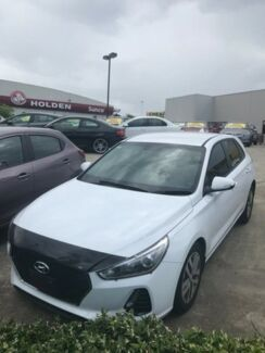 2018 Hyundai i30 PD Active White 6 Speed Auto Sequential Hatchback Buderim Maroochydore Area Preview