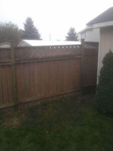 Fence Post Replacement Specialist Cambridge Kitchener Area image 3