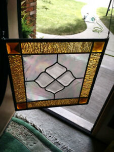 Stained Glass Window Hanging Lite