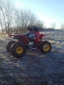 quad bike 250 ram