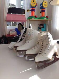 3 paires de patins