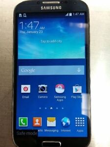 Bell Samsung Galaxy S4 Blue Sapphire, Excellent Condition