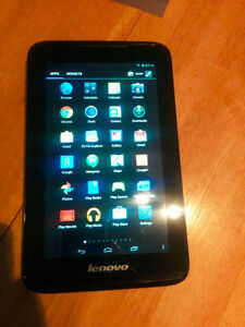 LENOVO TABLET 16GB INTERNAL W/SLOT FOR EXPANSION $80