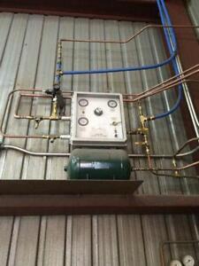 Unité mélangeur de gaz