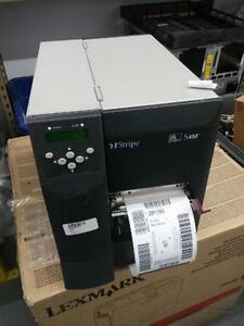 Zebra S4M Direct Label Printer with Ethernet,serie, USB