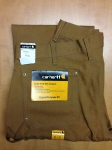 Brand New Carhartt Double-Front Work Dungaree Work Pants - $40