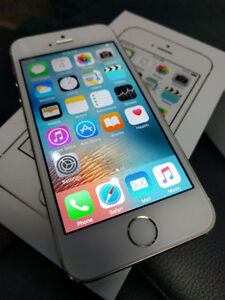 Silver Apple iphone 5s for Telus and Koodo
