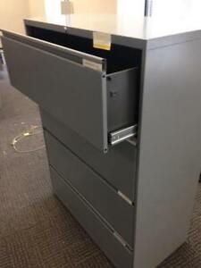 OFFICE SPECIALTY 4 DRAWER FILING CABINETS