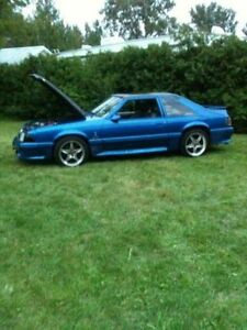 1987 Ford Mustang Fox Body Coupe (2 door)