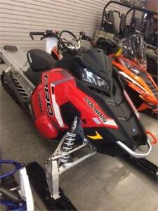 Polaris 800 Pro-RMK 163 2018, Indy Red, neuf 0 KM