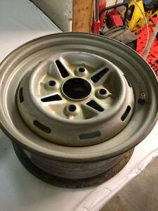 Full Set Of Four Steel ATV Wheels, 12x6 & 12x7.5, 4/110