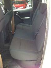 2011 Ford Ranger PX XL 3.2 (4x4) White 6 Speed Manual Dual Cab Utility Beckenham Gosnells Area Preview