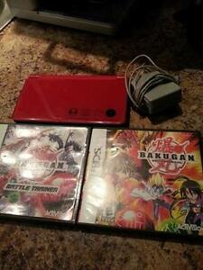 dsi xl with two games