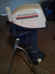 evinrude 6hp motor stand tank hose