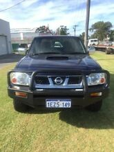 2011 Nissan Navara D22 Series 5 ST-R (4x4) Dark Blue 5 Speed Manual Dual Cab Pick-up Maddington Gosnells Area Preview