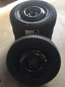 """NEW 15"""" Winter Tire and Rim Package Elantra Civic Corolla etc."""