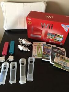 Nintendo Wii Bundle W/ Wii Fit