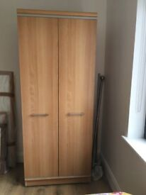FOR SALE Light Wood Wardrobe