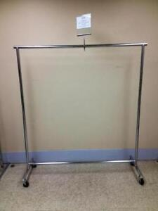 Clothes racks and hangers new and used