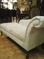 SOLD!!!Very Nice! Cleopatra Fainting Couch Sofa with Storage