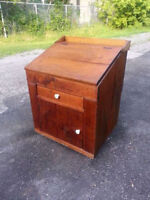 Antique bureau/secrétaire de changeur (field desk) WOW!