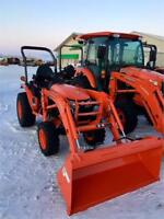Kubota B2601 Tractor and LA434 Loader Brandon Brandon Area Preview