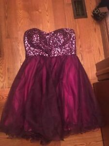 SHORT JUNIPER PROM DRESS