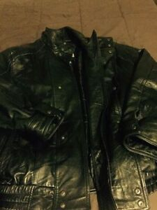 Mens Leather Jacket - 3X