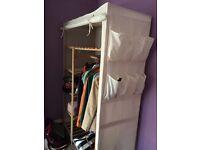 Wooden Wardrobes x 2