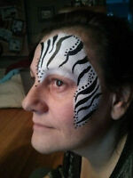 AFFORDABLE FACE PAINTING FOR YOUR NEXT EVENT! BOOK FOR AUGUST !!