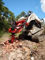Spring land clearing and mulching services