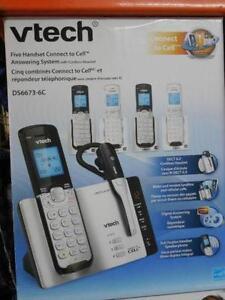 Telephone sans fil et repondeur VTECH DS6673-6C NEUF