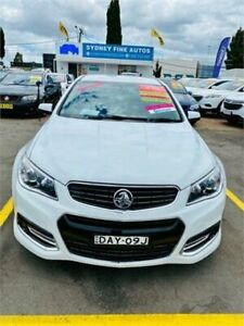 2015 Holden Commodore VF II MY16 SV6 White 6 Speed Sports Automatic Sedan Minchinbury Blacktown Area Preview