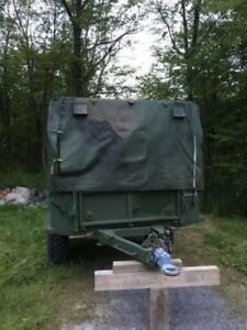 M 104 series military trailer